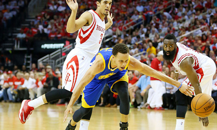 Houston Rockets: 80 - Golden State Warriors: 115