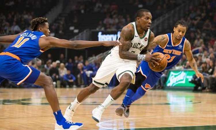 Milwaukee Bucks: 124 New York Knicks: 113