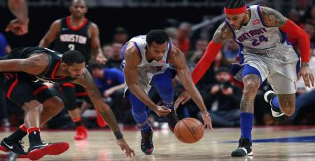 Detroit Pistons: 108 - Houston Rockes': 101