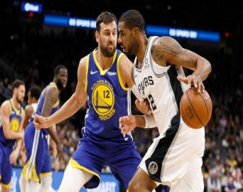 San Antonio Spurs:111 Golden State Warriors: 105